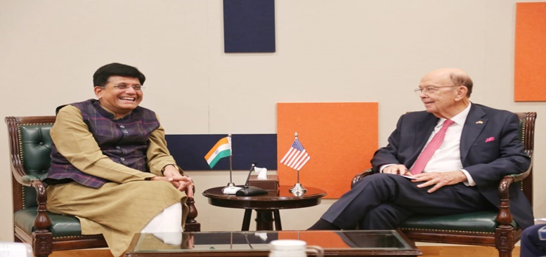 Commerce and Industry Minister met with Wilbur Ross, US Secretary of Commerce on 03.10.2019